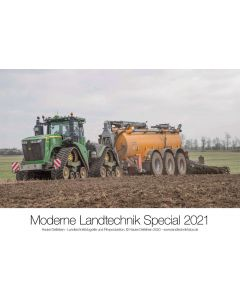 Kalendarz John Deere 2021 - nowoczesna technika rolnicza