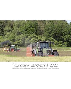 Kalendarz Youngtimer 2022 technika rolnicza