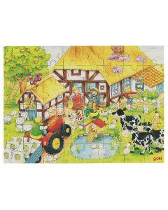 Puzzle Gospodarstwo dziadka i babci