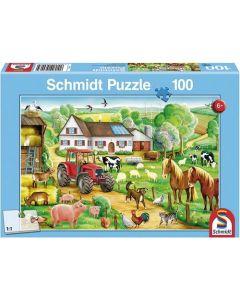 Puzzle Rolnicze Wesołe gospodarstwo