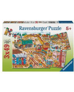 Puzzle Na budowie
