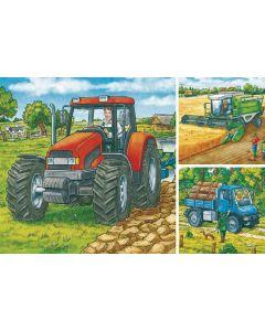 Puzzle Duże maszyny rolnicze