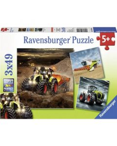 Puzzle Claas: Axion, Lexion, Xerion