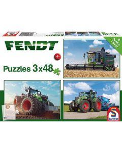 Puzzle Fendt zestaw