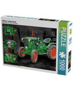 Puzzle Zabytkowy Traktor Deutz
