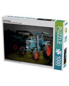 Puzzle Zabytkowy Traktor Lanz Bulldog