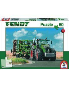 Puzzle Fendt Vario z Amazone Genius
