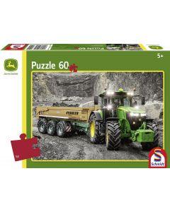 Puzzle ciągnik John Deere 7310R 60 elementów