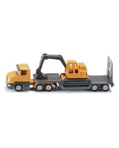 Samochód ciężarowy z koparką Siku 1:87 1611