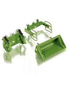 Osprzęt do ładowacza (zielony)