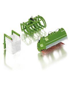 Akcesoria do ładowacza - John Deere  (zielone)