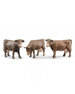 Zestaw krów brązowych