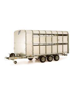Przyczepa do transportu zwierząt Ifor Williams Britains 1:32 40710A1