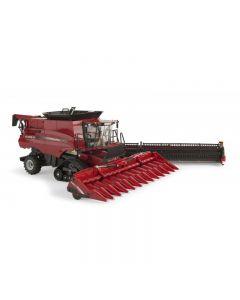 Case IH 9240 z przystawką do kukurydzy