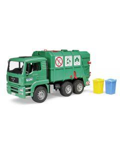 MAN TGA Śmieciarka (Zielona)