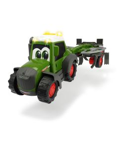 Happy Fendt - traktor z przetrząsaczem