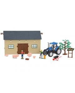 New Holland Farmer Set 1 Jamara 1:32 460532