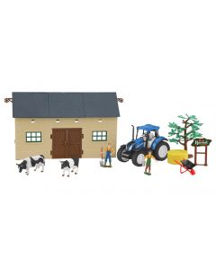 Zestaw New Holland Farmer Set 2 Jamara 1:32 460533
