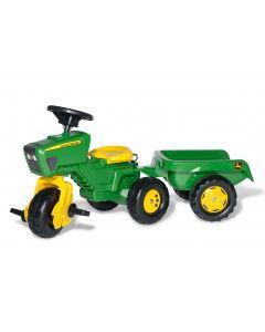 Traktor na pedały John Deere rollyTrac z przyczepą RollyKid R05276 Rolly Toys