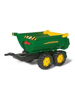 Przyczepa dwuosiowa John Deere rollyHalfpipe Rolly Toys R12216