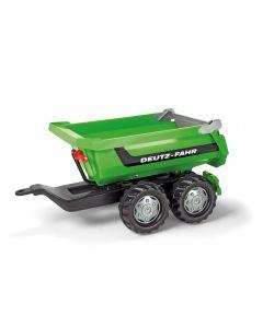 Przyczepa dwuosiowa Deutz-Fahr rollyHalfpipe Rolly Toys R12224