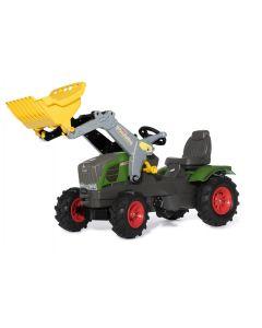 Traktor na pedały Fendt 211 Vario z ładowaczem i ogumieniem rollyFarmtrac R61108 Rolly Toys