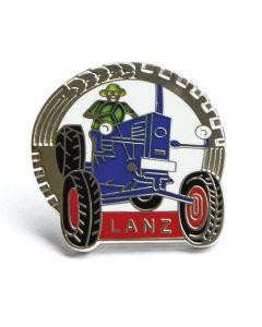 Przypinka z traktorem Lanz