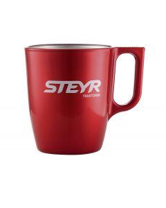 Kubek Steyr czerwony