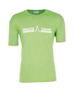 T-Shirt Deutz-Fahr zielony męski rozmiar S