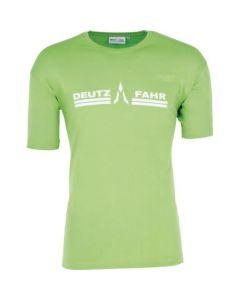 T-Shirt Deutz-Fahr zielony męski rozmiar 3XL