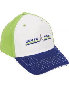Czapka Deutz-Fahr (trójkolorowa)