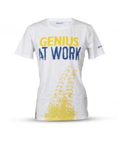 T-Shirt New Holland Genius at work męski rozmiar L