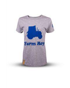 T-shirt New Holland Farm Boy 9-11 lat