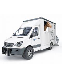 MB Sprinter do przewozu koni Bruder 1:16 02533
