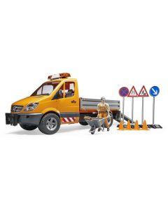 MB Sprinter pojazd komunalny Bruder 1:16 02537