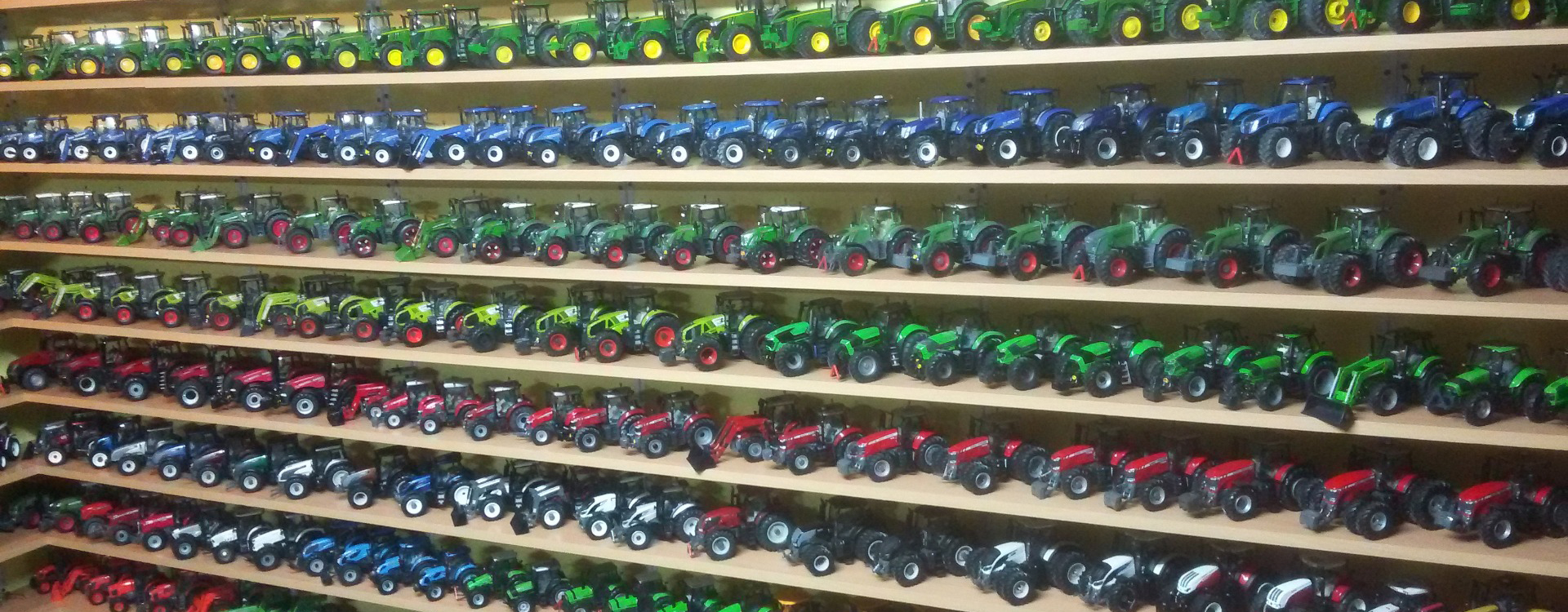 Modele rolnicze - pasja kolekcjoner